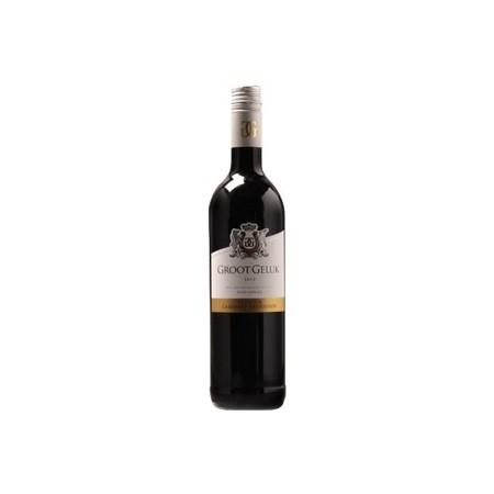 Wijn - Groot geluk - Cabernet Sauvingon - wijnen en champagnes