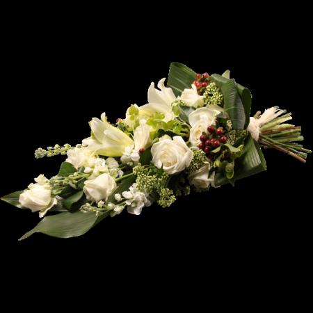 Gerbe mortuaire liée - Condoléances