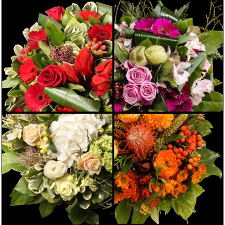 2 wekelijks bloemenabonnement - bloem-abonnementen