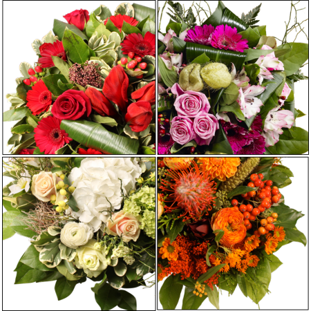 Abonnement hebdomadaire - abonnement de fleurs