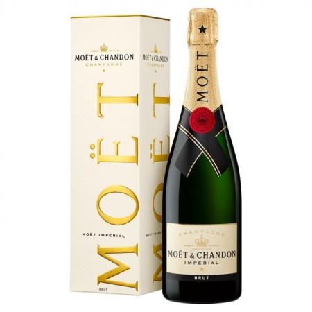 Champagne - Moët & Chandon Impérial Gift Box - 75cl - vins et champagnes