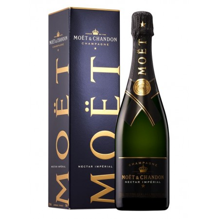 Champagne - Moët & Chandon Nectar Impérial Gift Box - 75cl - wines and champagnes