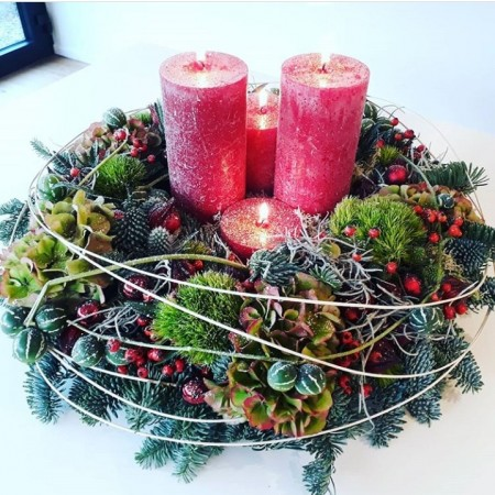 Advent wreath - Christmas spirit