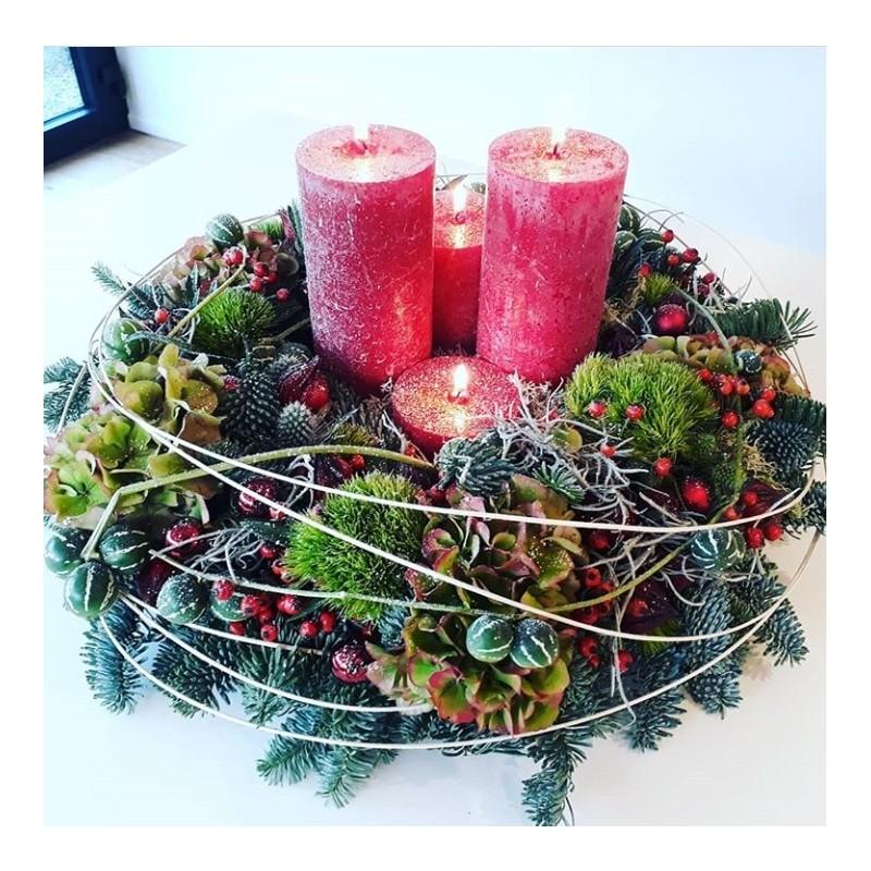 Advent wreath - Christmas spirit