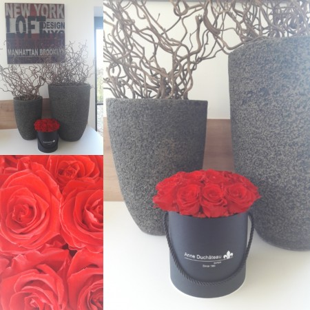 Box of Eternal roses - love and romance, stabilized flowers