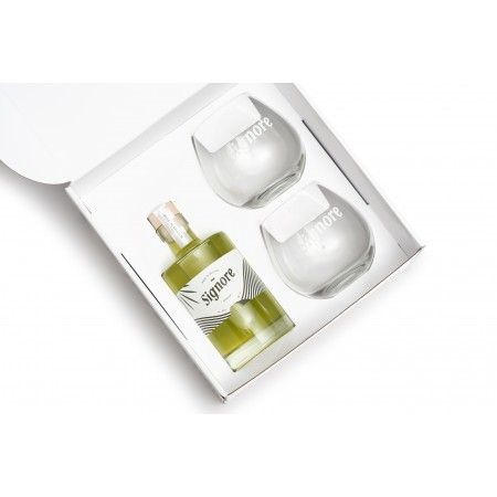 Coffret Signore - vins, spiritueux et champagnes