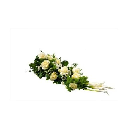 Gerbe mortuaire - Condoléances