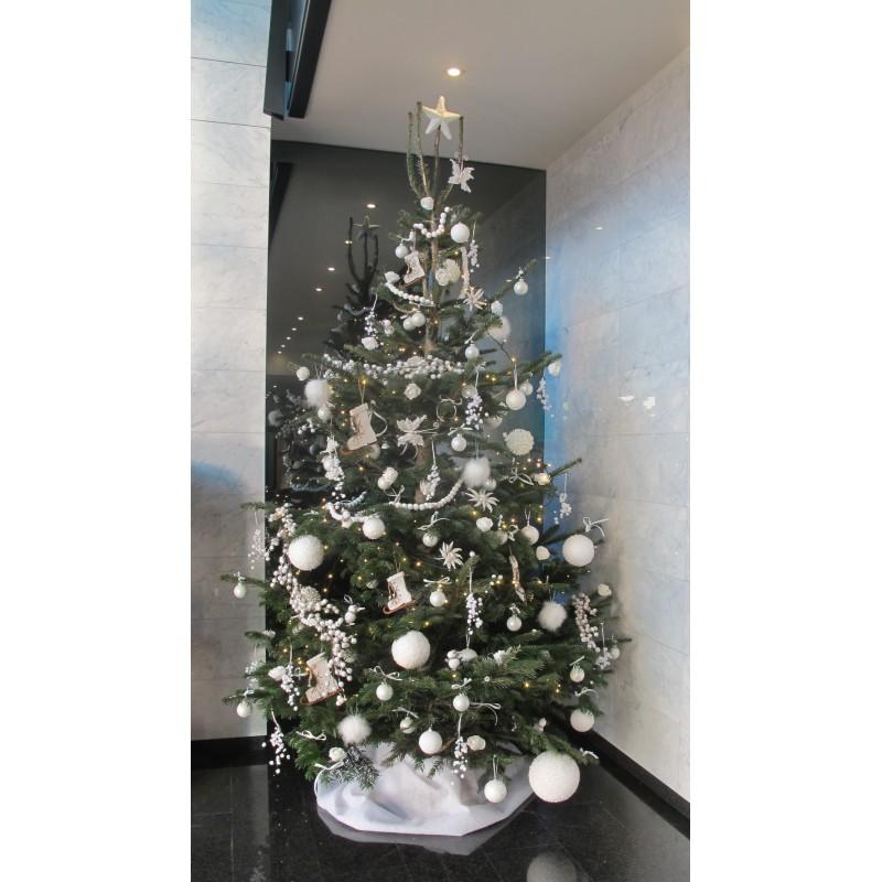 Sapin de Noël décoré (Nordmann) - Sapins de Noël